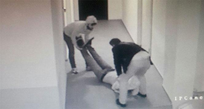 İş adamını bayıltıp kaçırmak istediler