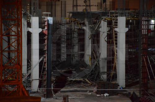 Ankara'da fabrika inşaatında kalıp çöktü: 7 yaralı