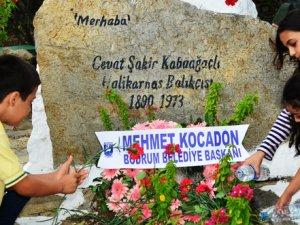 Halikarnas Balıkçısı Bodrum'da mezarı başında anıldı