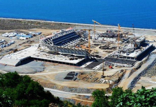 Trabzonspor'un stadının açılış tarihi yine değişti