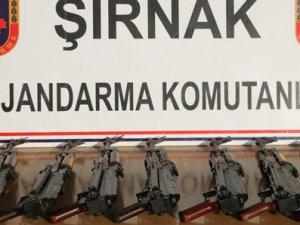 Şırnak'ta o silahlar ele geçirildi