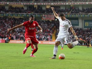 Beşiktaş, Antalya'da 5-1 kazandı
