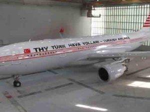 THY uçağına 'nostaljik' boya