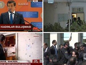 Polisin cop ve gaz maskeleriyle Koza İpek grubuna girişini canlı veren haber kanalı olmadı!
