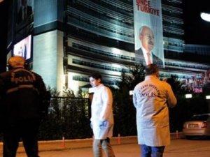 CHP'ye saldırıyla ilgili bir kişiye gözaltı