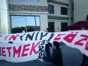 Galatasaray maçı öncesi Eskişehirspor'da protesto şoku