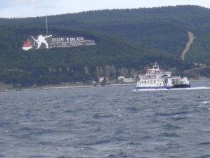 Bozcaada ve Gökçeada feribot seferleri iptal edildi