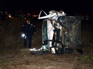 Ankara'da kaza: 2 polis ağır yaralandı
