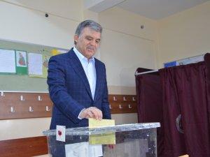 Abdullah Gül: Milletin huzura ve istikrara ihtiyacı var