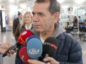 Dursun Özbek: Galibiyet için gidiyoruz