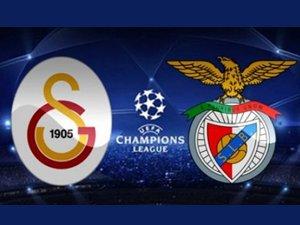 Benfica - Galatasaray mücadelesi 22.45'te başlıyor