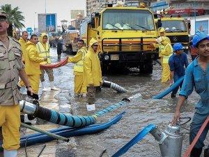 Mısır'da yağışlar ve fırtına nedeniyle ölenlerin sayısı 17'ye çıktı