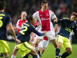Ajax - Fenerbahçe maçından gol sesi çıkmadı