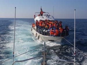 Lüks yatta 131 kaçak göçmen yakalandı