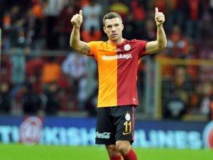Galatasaray'ın en skorer ismi Podolski