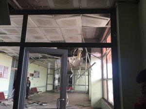 Cizre'de hastaneye roketatarlı saldırı