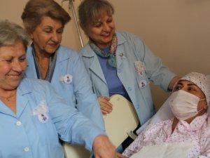Kanser hastalarının hayat ışığı 'Mavi Melekler'