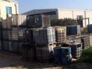 İzmir'de 168 ton kaçak akaryakıt ele geçirildi