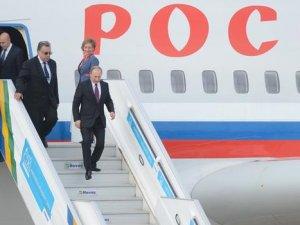 Vladimir Putin Antalya'ya geldi
