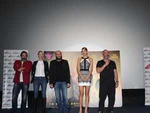 Cem Yılmaz film gösterimi için Ankara'da
