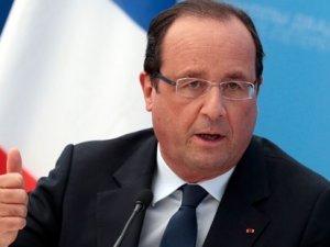 Fransa Cumhurbaşkanı Hollande: Fransa savaştadır