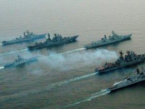 Rus gemileri Akdeniz'den Rakka'yı vurdu