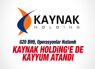 Kaynak Holding'e kayyum atandı