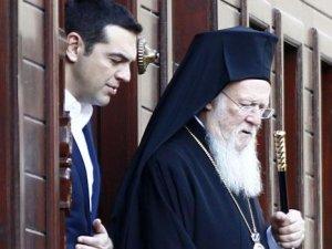 Alexis Çipras'tan Patrikhane'ye ziyaret