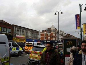Londra'da metro istasyonu tahliye edildi