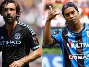 Ronaldinho ve Pirlo transferleri tamam
