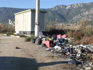 Türkiye'nin sörf merkezi çöplük oldu