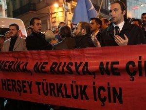 Türkmen köylerine yönelik kara harekatı, İstanbul'da protesto edildi
