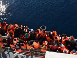 346 göçmen boğulmaktan kurtarıldı