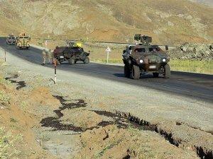 Muş'ta askeri araca bombalı tuzak