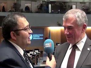 Ahmet Ünal Çeviköz: Türkiye yeniden IMO Genel Kurul üyeliğine seçilecektir