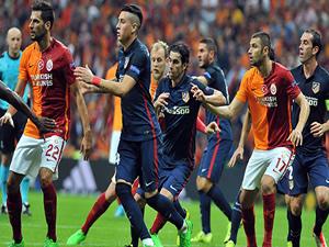 Galatasaray, Atletico Madrid'e konuk oluyor
