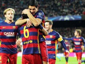 Barcelona Roma'ya acımadı