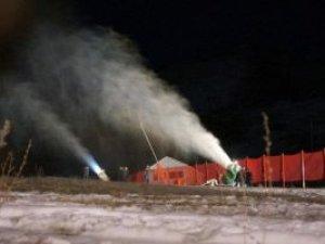Palandöken'de artık kar yağmadan kayak yapılabilecek