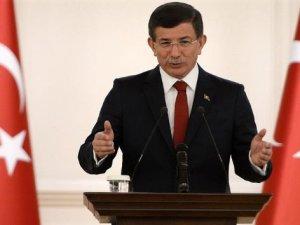 Başkaban Davutoğlu grup toplantısında konuşuyor