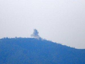 Türkmen bölgesine ağır bombardıman