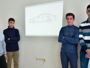 Liseli gençlerden 'tamponda hava yastığı' projesi
