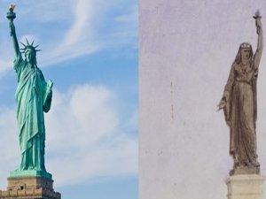 """""""Özgürlük Anıtı aslında Müslüman bir kadın olarak tasarlanmış"""""""