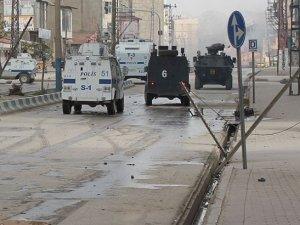 Mardin'in Derik ilçesinde sokağa çıkma yasağı
