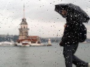 İstanbul bu sabah güne yağmurla başladı