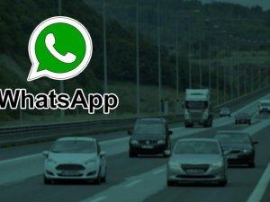 Trafikte WhatsApp'tan ceza dönemi