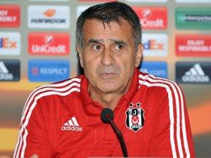 Şenol Güneş: 'Kazanmamız gereken bir maça çıktık'
