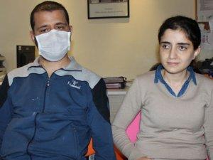 Gözleri görmeyen böbrek hastası iki kardeşin nakil mutluluğu