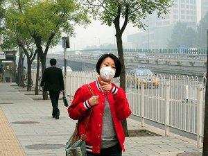 Çin'de hava kirliliği tehlikeli seviyede: Sarı alarm verildi