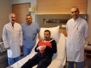 45 dakika kalbi duran hasta hayata geri döndürüldü