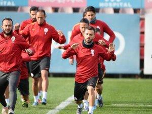 Galatasaray Bursaspor mesaisine başladı